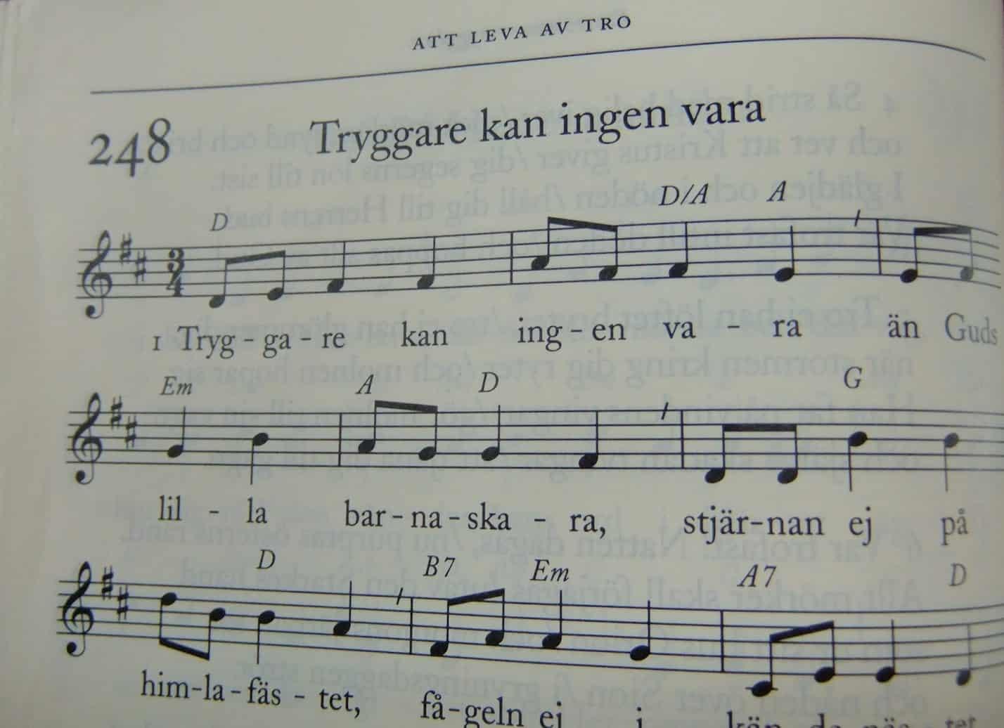 Lyssna på psalmer