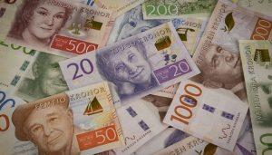 dopgåva kontanter