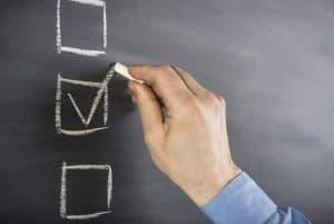 checklista dop